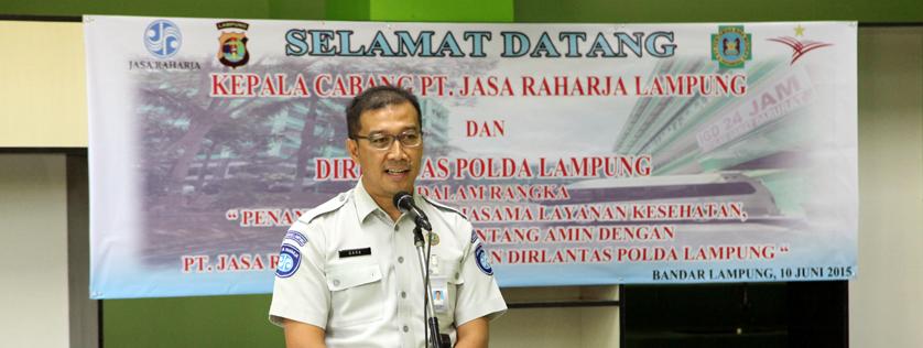 Jasa Raharja Kepincut Pelayanan RS Pertamina-Bintang Amin